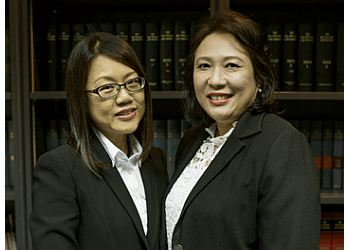 Dorothy Chai and Mary Ong