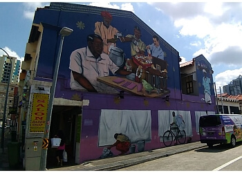 Little India Art Wall
